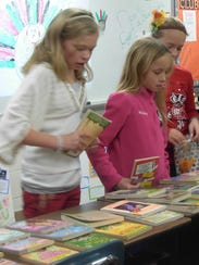 Lincoln students recently took part in a Book Swap