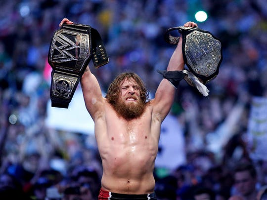 WWE Champion Daniel Bryan will face off against AJ Styles.