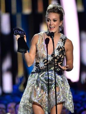 June 7, 2017; Nashville, TN, USA; Carrie Underwood
