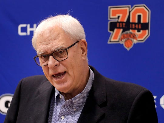 Phil Jackson did not say it in his press conference,