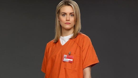 "Taylor Schilling stars in ""Orange is the New Black"""