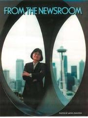Mei-Mei Chan on the cover of Proud Magazine in Seattle,