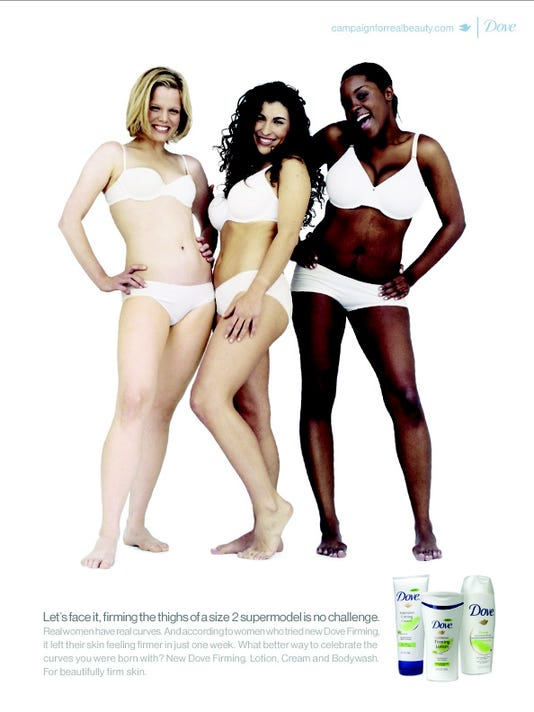 Dove Real Beauty Campaign Ad