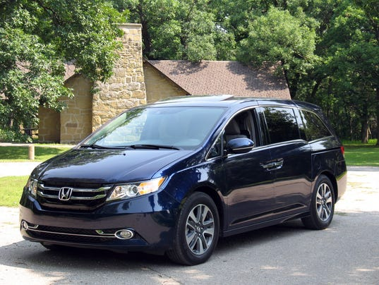 2014 Honda Odyssey minivan