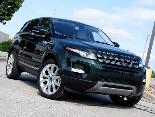 2014 range rover evoque blends efficiency luxury. Black Bedroom Furniture Sets. Home Design Ideas
