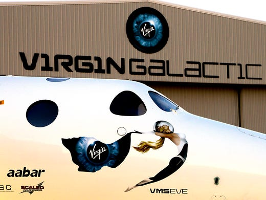 Virgin Galactic spaceship has in-flight problem