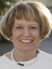 Arizona Republic reporter Barbara Yost is seen in 2005.