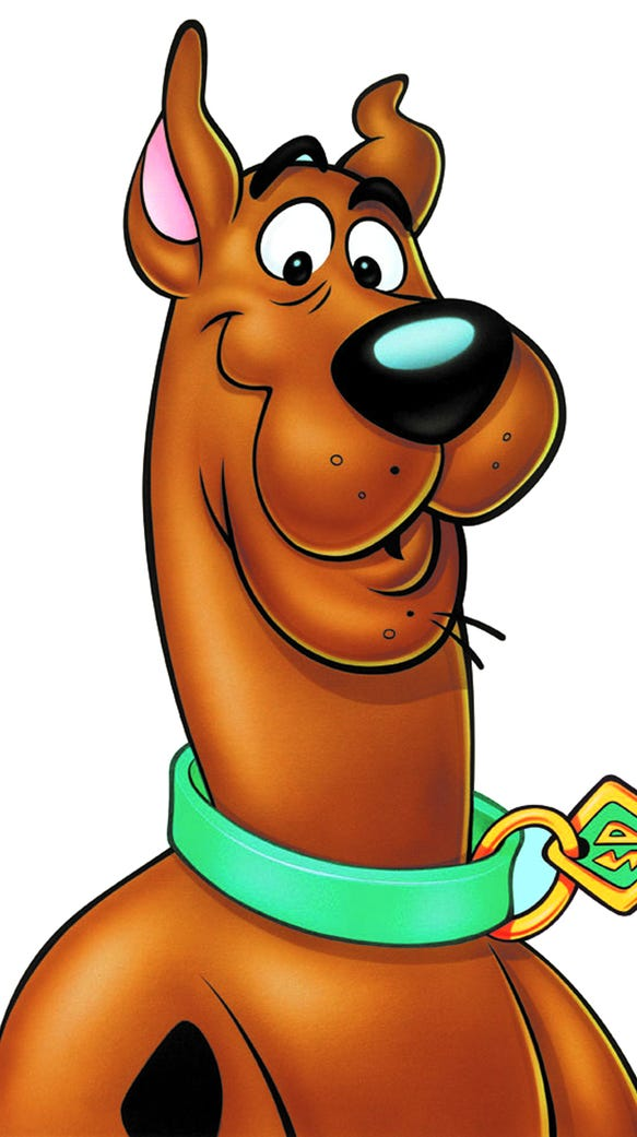 Scooby Doo is one of the classic cartoon characters