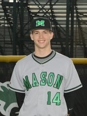 TJ Zeuch, a 2013 Mason High School graduate, was selected