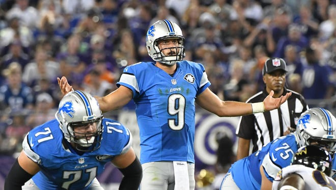 In nine trips into the red zone this preseason, Matthew Stafford and the Lions' offense have just four field goals and no touchdowns.