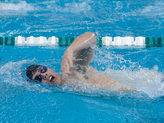 DII District swimming