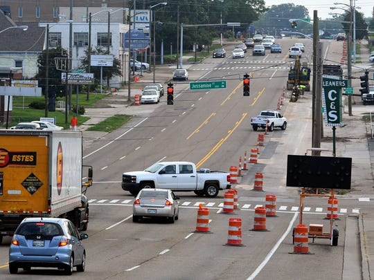 The City of Knoxville is spending $4.2 million on improvements along East Magnolia Avenue between Jessamine and North Bertrand streets. Some preliminary work has begun replacing water lines along both sides of the street.