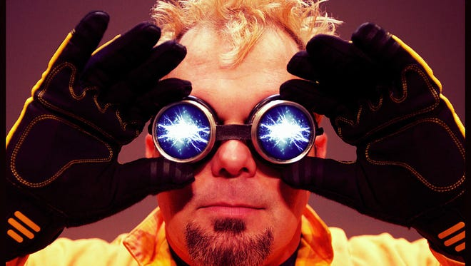 Doktor Kaboom will present his science show, Live Wire, at The Midland on April 6.