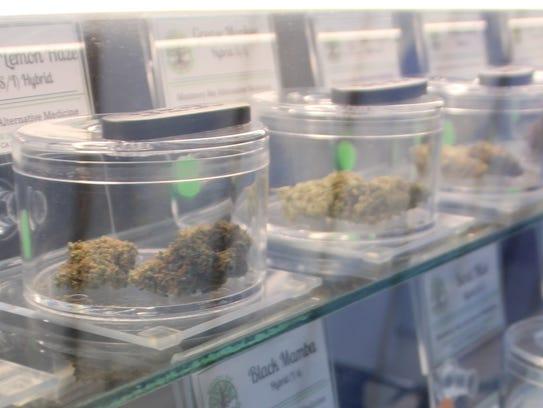 Marijuana for sale at Monterey Bay Alternative Medicine.