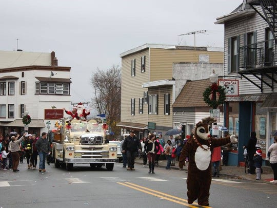 Boonton's annual holiday parade will kick off on Nov. 26. Pictured is last year's parade.