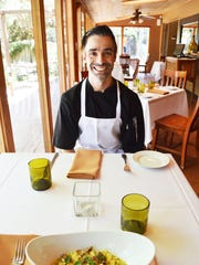 Chef Dustin Christofolo of Quiessence at the Farm at