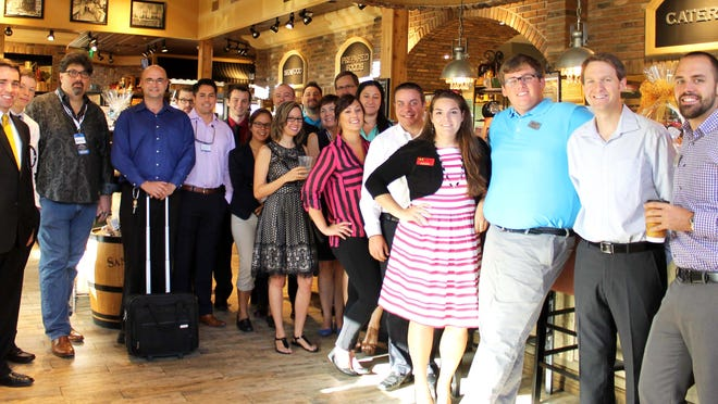 Social and networking functions like this one hosted by the Bonita Springs Area Chamber of Commerce Young Professionals are becoming more frequent in Southwest Florida for this segment of the workforce.
