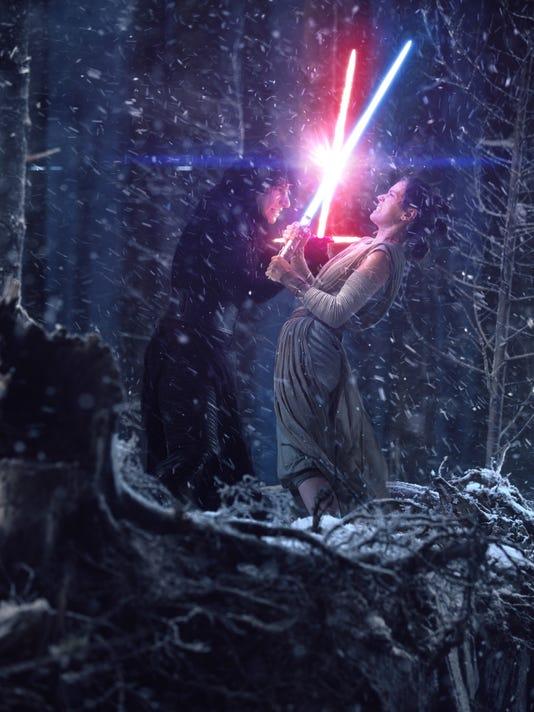 Force Awakens Rey Kylo