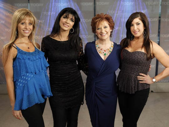"Dina Manzo, Teresa Giudice, Caroline Manzo and Jacqueline Laurita from ""The Real Housewives of New Jersey"" in 2010."