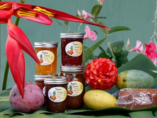 A selection of mango products created by Donna Schneider.