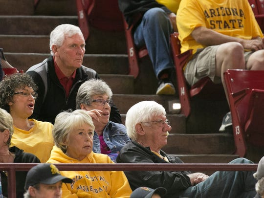 Bobby Hurley Sr., the father of ASU head basketball