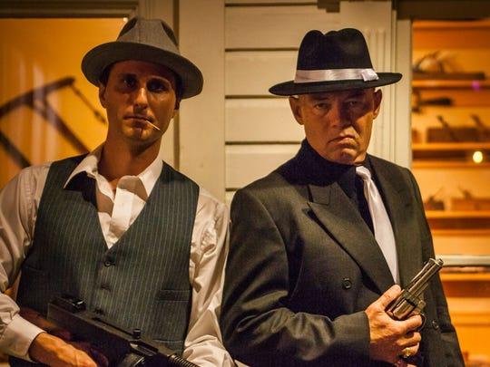 Anthony Ballios (left) plays Toothpick Paulie and David