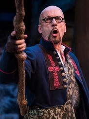 Michael Elich as Jacques in the Utah Shakespeare Festival's