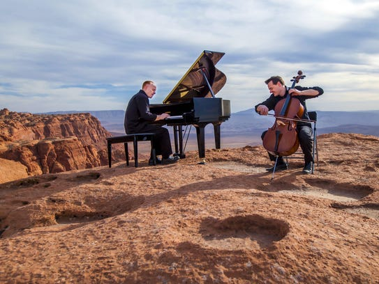 The Piano Guys perform at8 p.m. Jan. 26 at the Silver Legacy's Grande Exposition Hall.