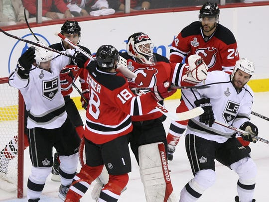 The last time the Devils were in the playoffs, they