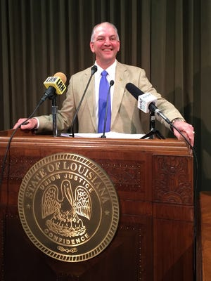 Gov. John Bel Edwards is the only Democratic governor in the Deep South.