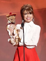 THE ALL-STAR DOG RESCUE CELEBRATION: Paula Abdul at the second annual THE ALL-STAR DOG RESCUE CELEBRATION, a one-of-a-kind event celebrating Americas rescue dogs, airing Thursday, Nov. 26.