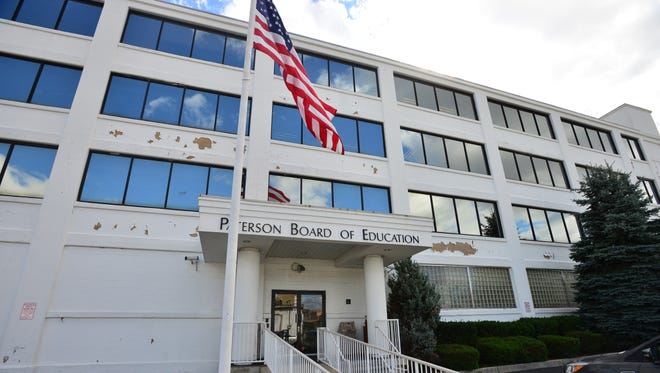 The Paterson Board of Education building at 90 Delaware Ave. The city school district is paying $850 per day to Juanita Petty, its new interim assistant business administrator, a retiree already collecting a state pension of more than $54,000 per year.