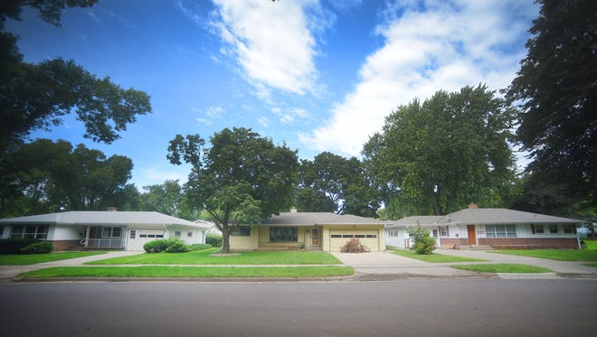 A house at 2021 S. Covell Ave. sits vacant Thursday, Aug. 24, in Sioux Falls. Repeated attempts have been made to contact the owner of the house which is registered to a New Jersey company called PHH Mortgage Corporations.