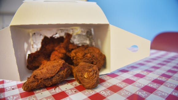 Mama's Phried & Phillys fried chicken Tuesday, July