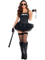 "An ""arresting"" costume, but not for tweens."