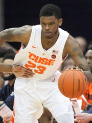 Syracuse guard Frank Howard has been suspended indefinitely.