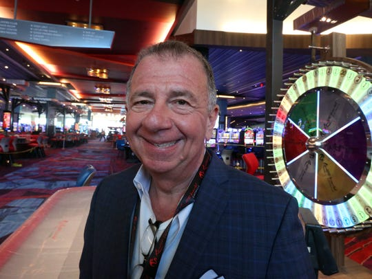 Charles Degliomini, executive vice president at Resorts