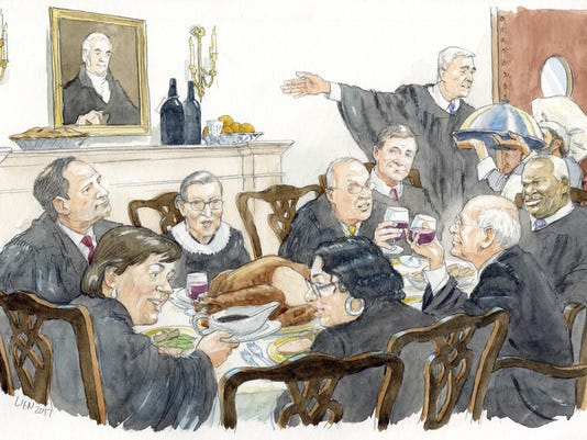 Supreme Court Table For 9