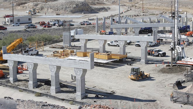 """Work has begun on both the Border West Expressway, above, and the """"Go 10"""" project in West El Paso."""