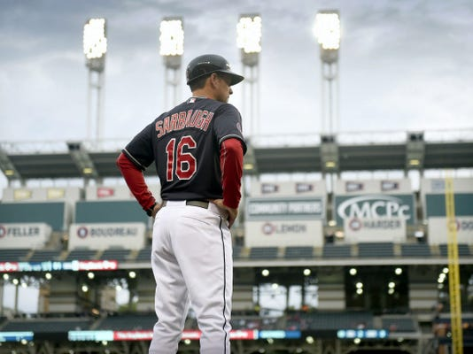 Donegal High School graduate Mike Sarbaugh is finally in the big leagues as the third base coach for the Cleveland Indians. While Sarbaugh never got an at-bat in the majors, his resume includes shortstop for Lamar University, and played for the Helena Brewers and the Cleveland Indians' organization from 1990-1994. The Pennsylvania native coached at a variety of winning teams in the minors before landing in Cleveland.