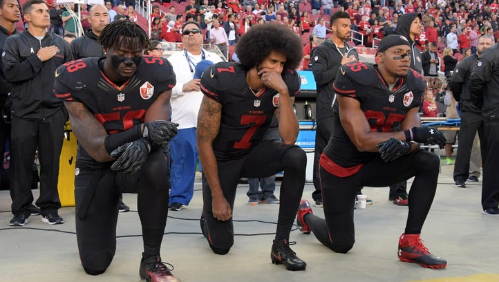 Colin Kaepernick was at the forefront of the national