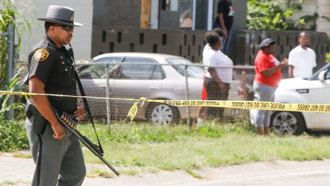 Police investigate a shooting in Over-the-Rhine.