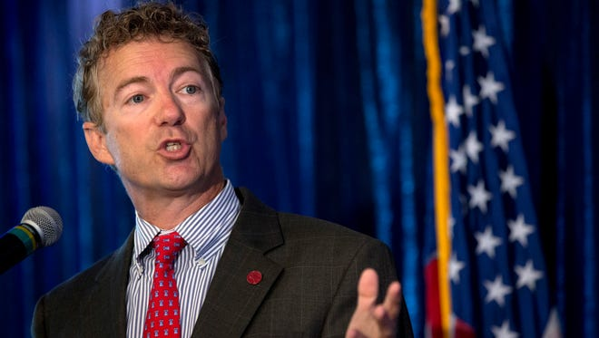 Sen. Rand Paul, R-Ky., is considering a 2016 presidential campaign.