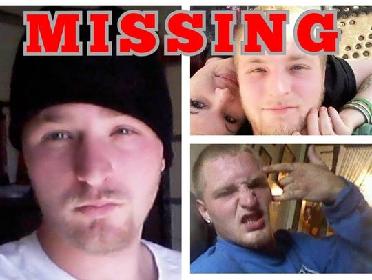 The missing poster for Billy Pace, whose body was found