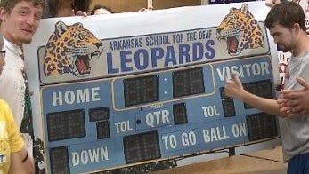 Deaf Leopards scoreboard