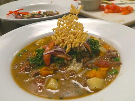 A stew prepared by Blaise Colamarino while he was a