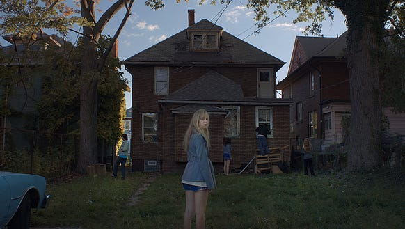 Maika Monroe stars in 'It Follows.'