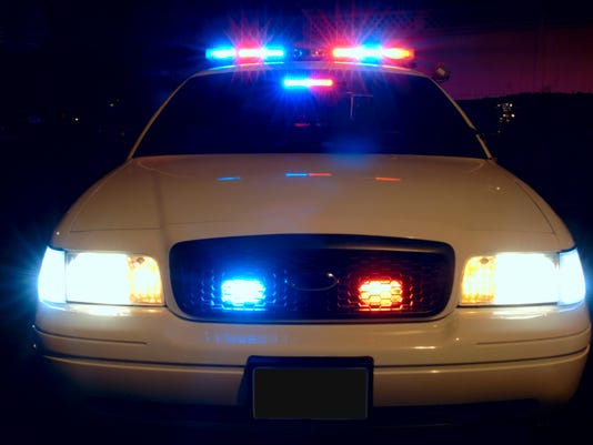 web - police car with lights