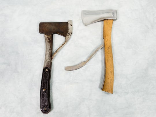 Businessman Webster Marble got started in the outdoors business with the safety axe he invented.