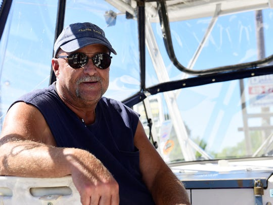 Dave Whitt of Fremont owns Coe-Vanna Charters.